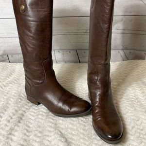 Sam Edelman PENNY brown riding boots